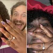 Empire star actress, Gabourey Sidibe, set to marry long time boyfriend, Brandon Frankel