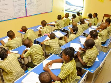 Panic in Abia state as school children found an explosive in their classroom.