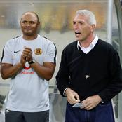 Coach Middendorpo found an answer on replacing Maluleka with a young  star in midfield.