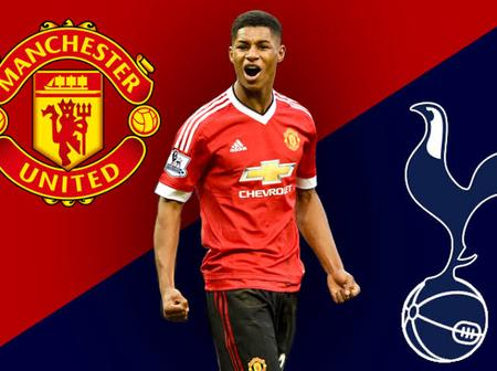 How Manchester United Could Line up against Tottenham Hotspur Today