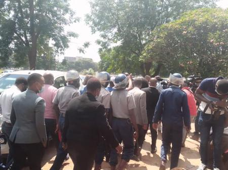 Visuals - Violent scenes after the sentencing of Haruzivishe