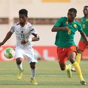 CAF U20 Cup of Nations; Ghana Beats Cameroon to Semifinals