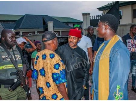 Anambra 2021: Father Ebube Muonso Visits US Based Doctor, Maduka
