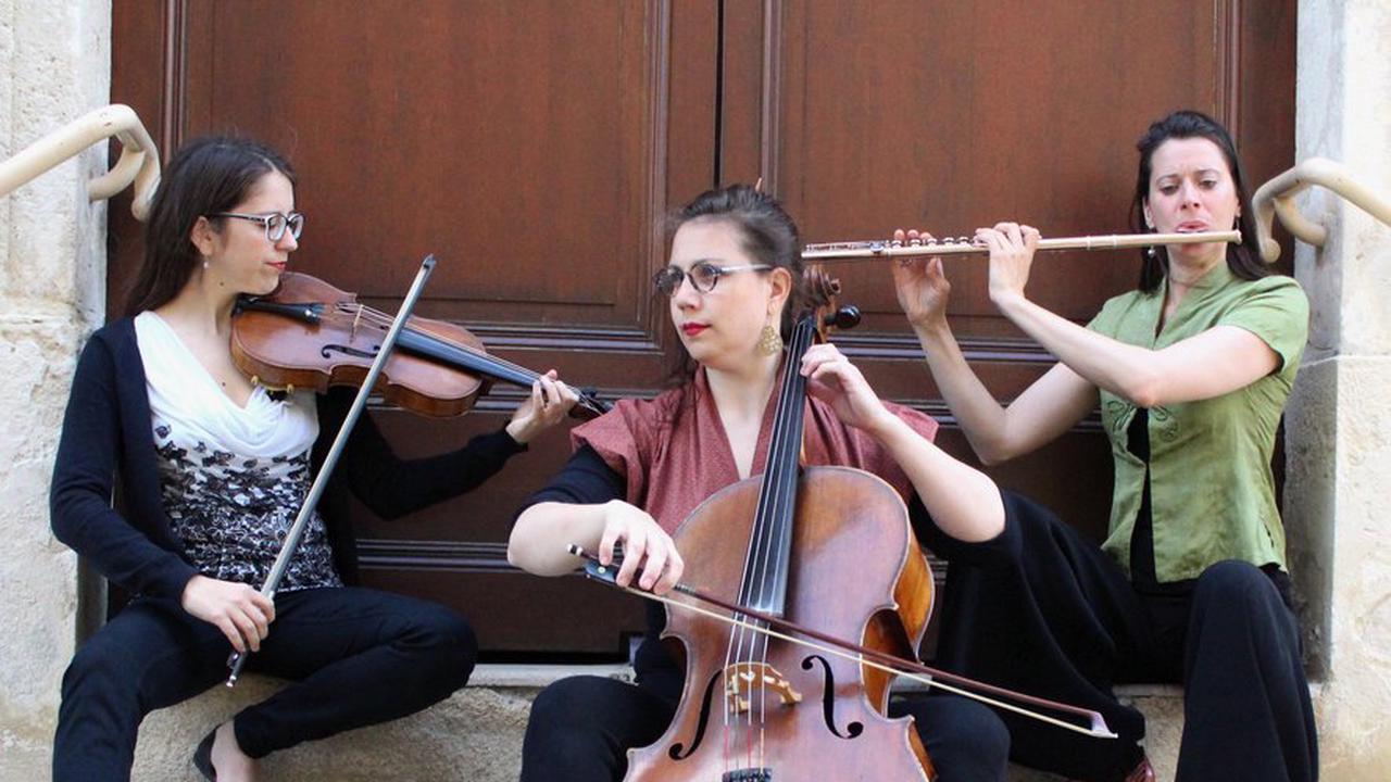 Le trio ''Plummme'' en concert à la salle culturelle