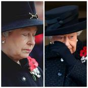 Check Out Rear Photos Of Queen Elizabeth II Crying In Public