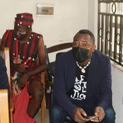Reactions as a native doctor allegedly followed Sowore to court (See photos)