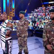 Meet the Two WWE Stars That Wore Nigerian Army Uniform on SmackDown