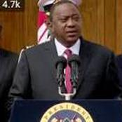 President Uhuru Kenyatta; Locusts & floods are now common and don't make headlines anymore
