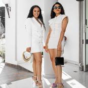 Kefilwe Mabote decided to play dress up and this is how it ended up looking gorgeous