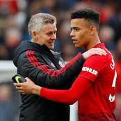 Manchester united star Mason Greenwood to start over Edison Cavani in their Match against PSG.