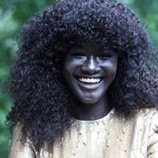 Remember The Young Lady With The Darkest Skin In The World? Meet The Man Putting Smiles On Her Face