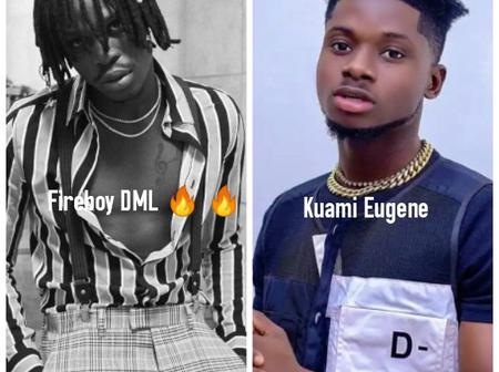 Fireboy DML Vs Kuami Eugene: Who Is The King Of Fashion?
