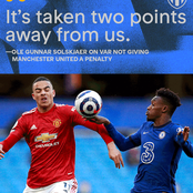 Chelsea vs United:This Might Be The Reasons Why Referee Atwell Refuse To Award The Penalty To United