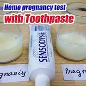 How to carry out pregnancy test using Toothpaste