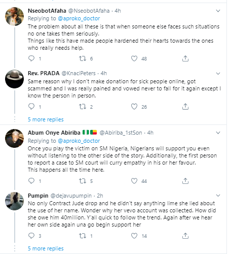 Cynthia MorganLied is trending on Twitter after Jude Okoye released contract which revealed they had a 50-50 sharing formula