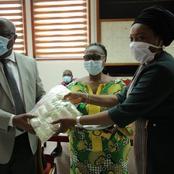 Covid-19 : une banque fait don de matériel médical à  l'Université de Cocody