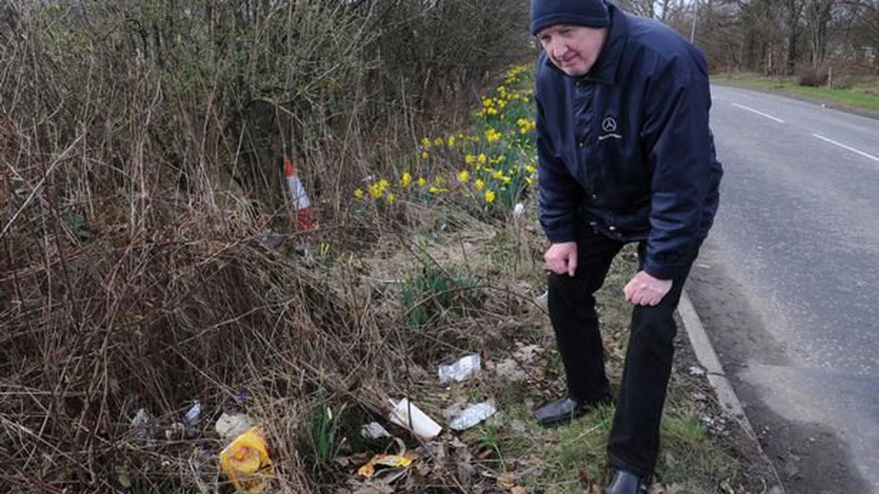 Road rage: Increase of fly-tipping and littering 'unprecedented'