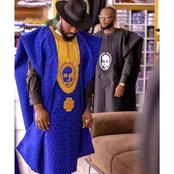 Agbada fashion style for handsome men