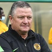Gavin Hunt Breaks Silence About Kaizer Chiefs Winning Trophies