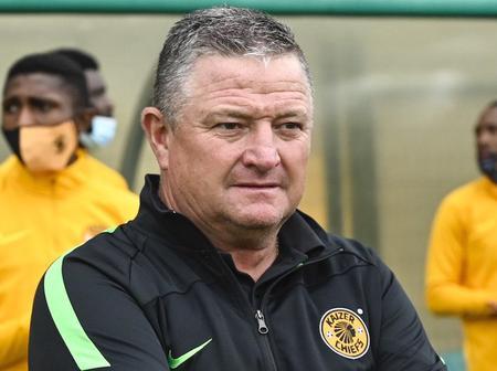 Gavin Hunt Breaks Silence About Kaizer Chiefs Winning Trophies