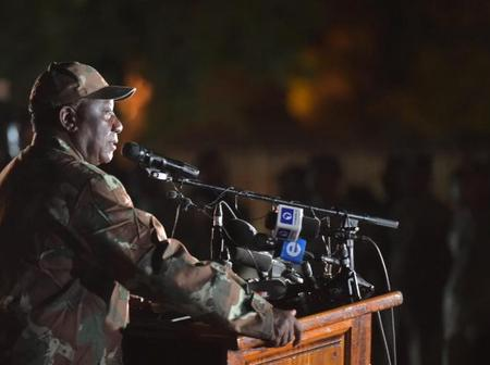 Good News For All South African Soldiers, As Cyril Ramaphosa Sends This Wonderful Message To Them.