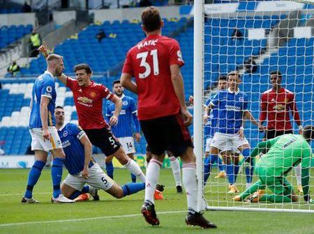 Man United Player Creates This Record For The Club After The Win Against Brighton