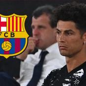 TRANSFER NEWS: Ronaldo Offered To Barcelona In Deal Worth ₦9 Billion - Details