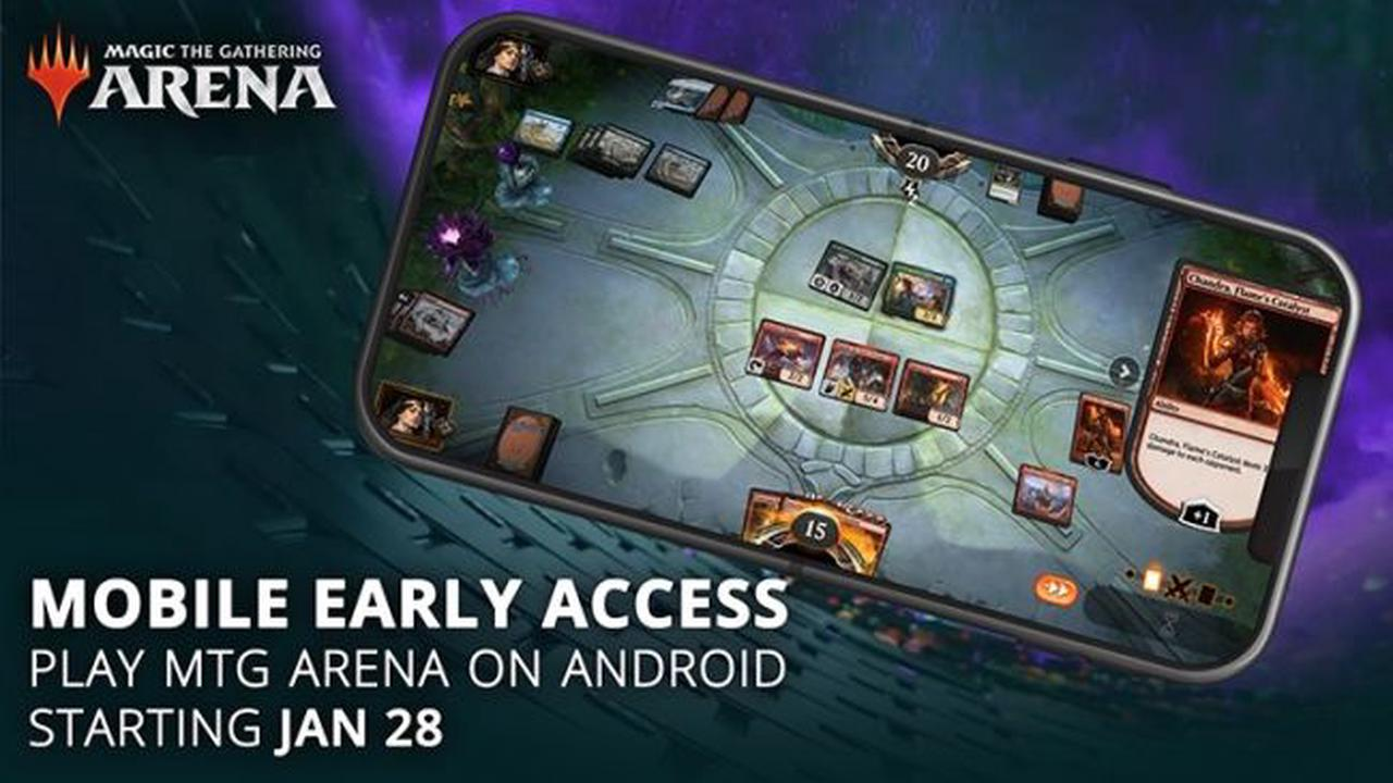 Magic the Gathering: Arena sortira le 28 janvier sur Android