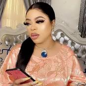 Bobrisky brags with his Airtime balance online