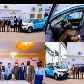 Governor Sanwo Olu unveils new Taxi scheme named Lagos ride, Deploys 1000 SUVs as taxis (Photos)