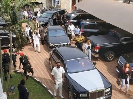 Emeka Okonkwo Alias E-Money Hosts Prophet Odumeje In His Home Town, Check Out Photos From The Party