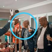 Julius Malema posted the pic of his birthday party but the nation sees this!