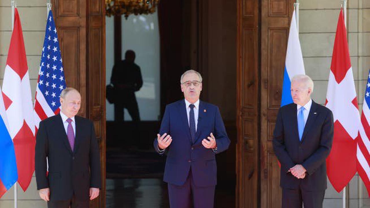 Genf: So verlief das Treffen zwischen Putin und Biden