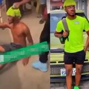 """I No Fit Kill My Mama For Money"" – Suspected Sakawa Boy Cries Out While Running Unclad (video)"