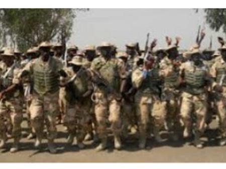 Soldier Commits Suicide In Borno State By Shooting Himself In The Head As A Result Of Depression.