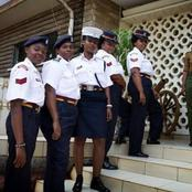 Kenyan Police women Vs Kenyan Nurses, Who have Better Uniforms?