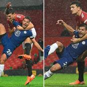 If Man U Fans Tell You They Were Robbed By VAR Yesterday, Show Them This Picture Of Maguire