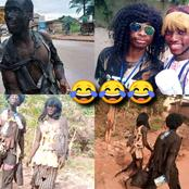 More Funny Photos Of Oko Polytechnic Student Carrying Out Their Rag Day Activity