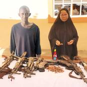 The Nigerian Police Force Was Said To Have Allegedly 'Manipulated' A Crime Suspect With AK 47 Guns.