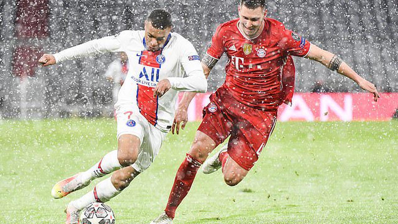 Bayern Munich suffer double injury blow with Niklas Sule and Leon Goretzka set to miss second leg of Champions League quarter-final againstParis Saint-Germain