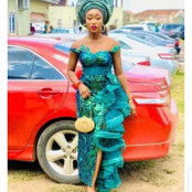 Checkout These Latest Owambe Lace Styles For Beautiful Women.