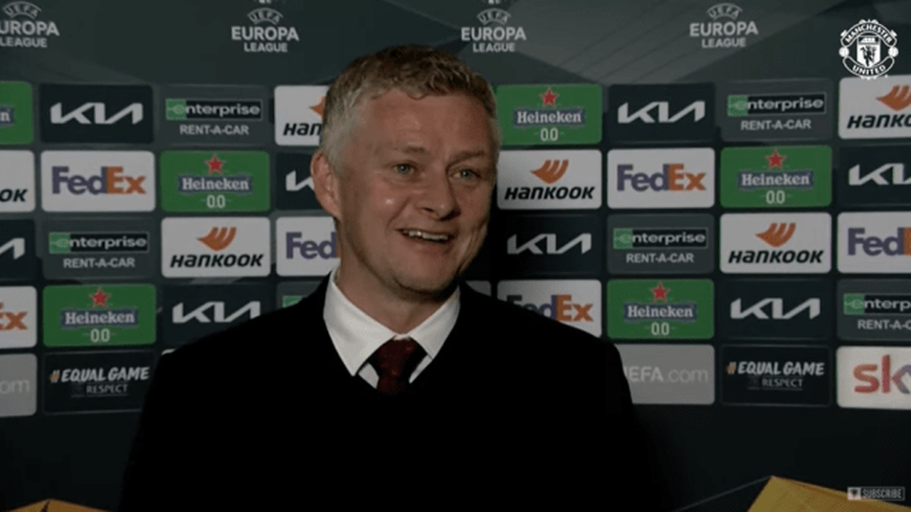Solskjaer singles out two players after Man Utd reach Europa League final