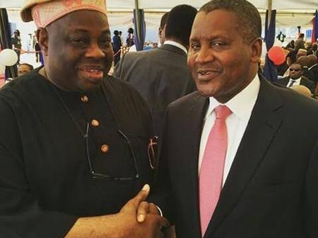 Check Out Easter Message Aliko Dangote Sent To Dele Momodu That Sparked Reactions