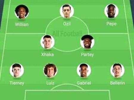How Arsenal could lineup to dominate the Premier league with Ozil and Partey