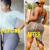 Photos Of Destiny Etiko That Proves That Her Curve Is Natural