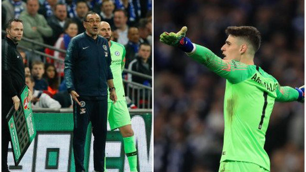 Kepa reveals truth behind his infamous League Cup final row with Maurizio Sarri