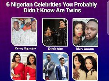 Meet 6 Nigerian Celebrities You Probably Didn't Know Are Twins