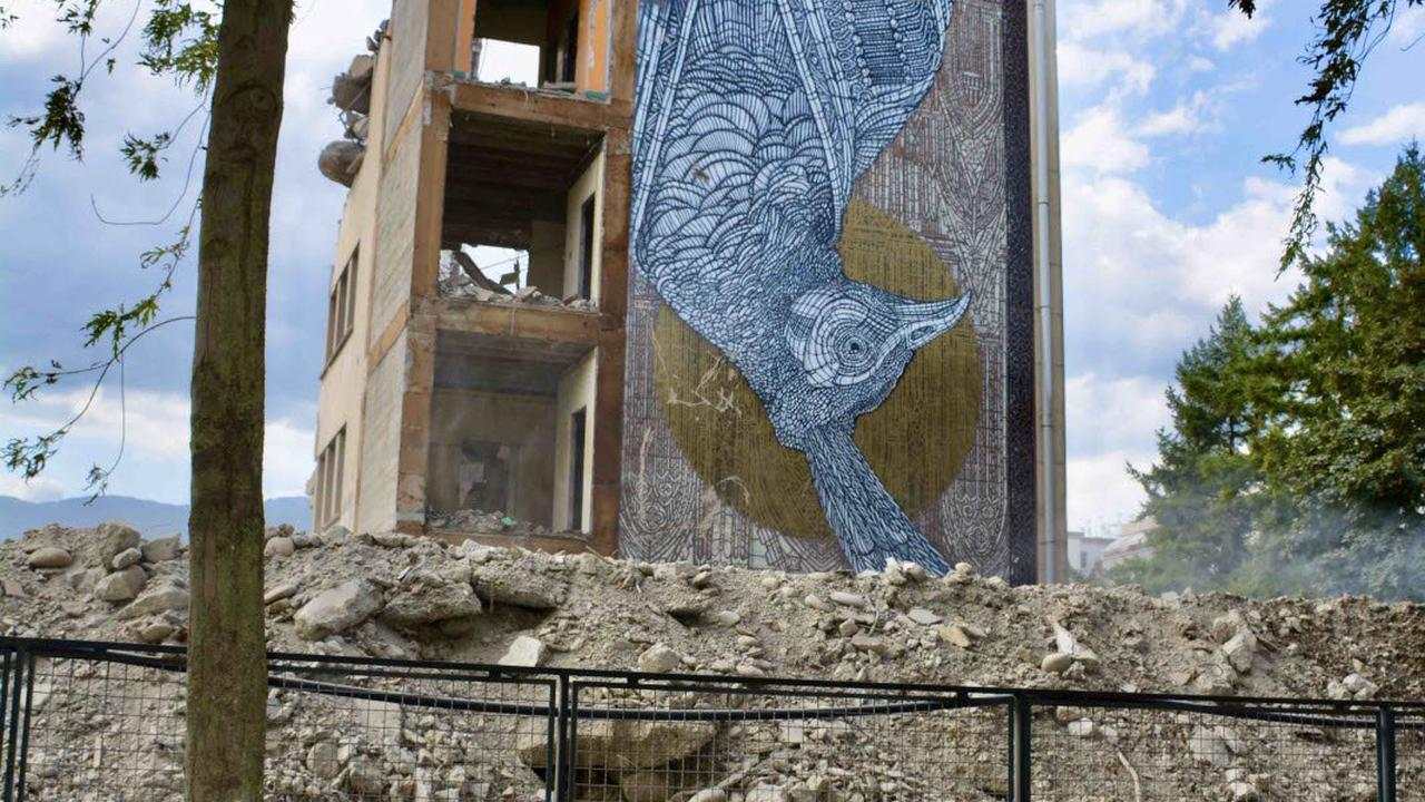 En images : lycée Mounier, les derniers instants des bâtiments historiques...