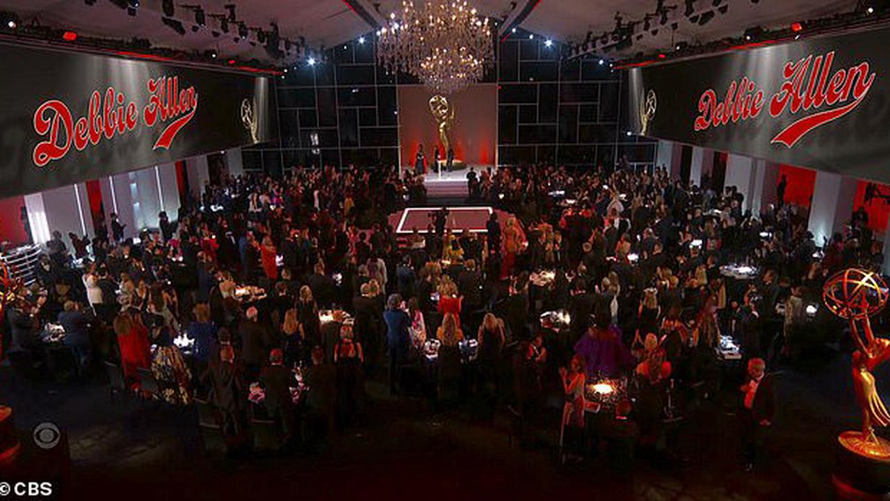 Celebs DO get different Covid rules: Los Angeles Department of Health insists Emmy awards ceremony didn't violate restrictions because is 'classed as a TV production and stars are considered performers'