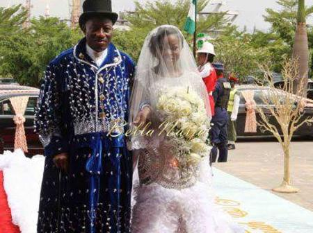 Meet Goodluck Jonathan's Adopted Daughter Faith Edwards, Who Got Married in 2014